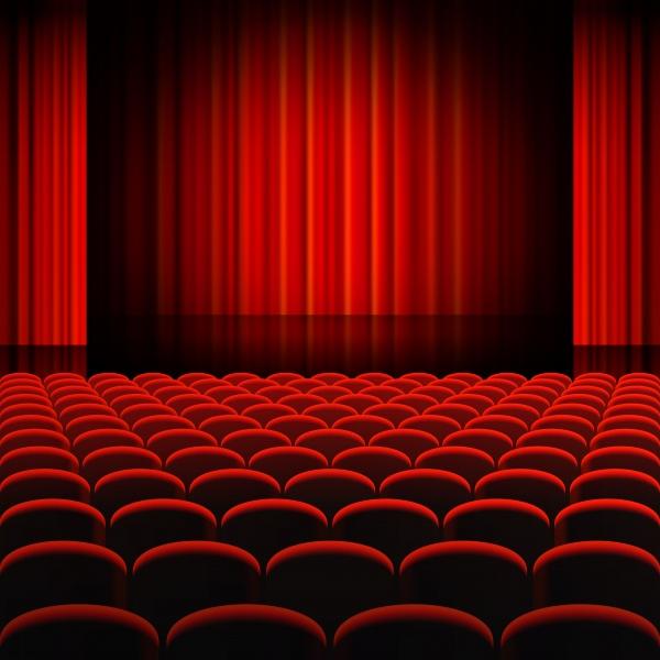 Сцена - Векторный клипарт | Stage - Stock Vectors (12 файлов)