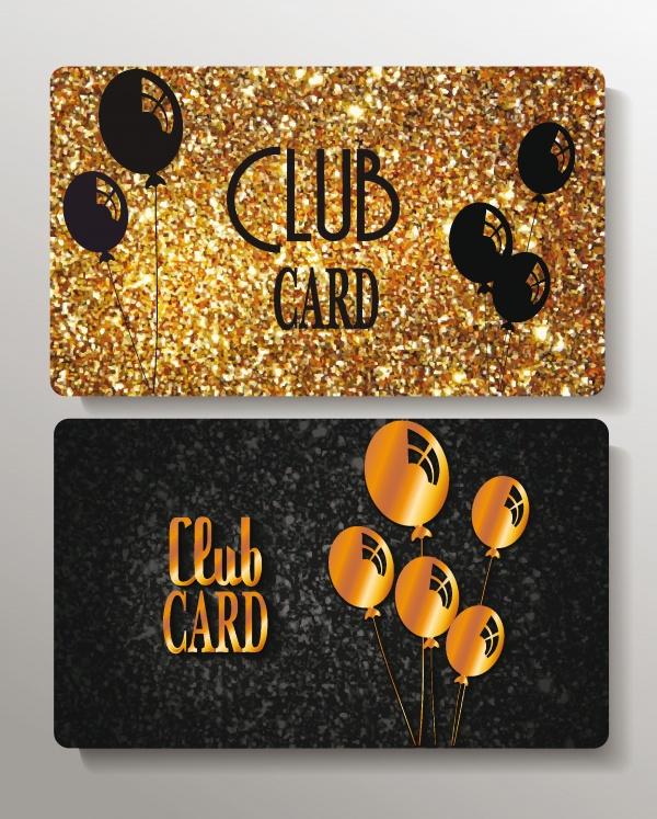 Вип карточки с золотым и серебряным декор | VIP card in gold and silver elements #2 (22 файлов)