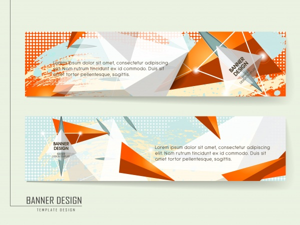 Abstract Banners Collection #17 (51 файлов)
