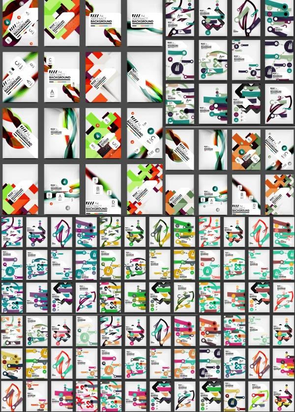Абстрактные Векторные Фоны #122 (10 файлов)