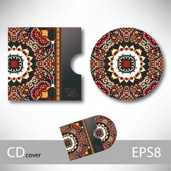 Обложка для диска с узором / CD Cover Collection (51 файлов)