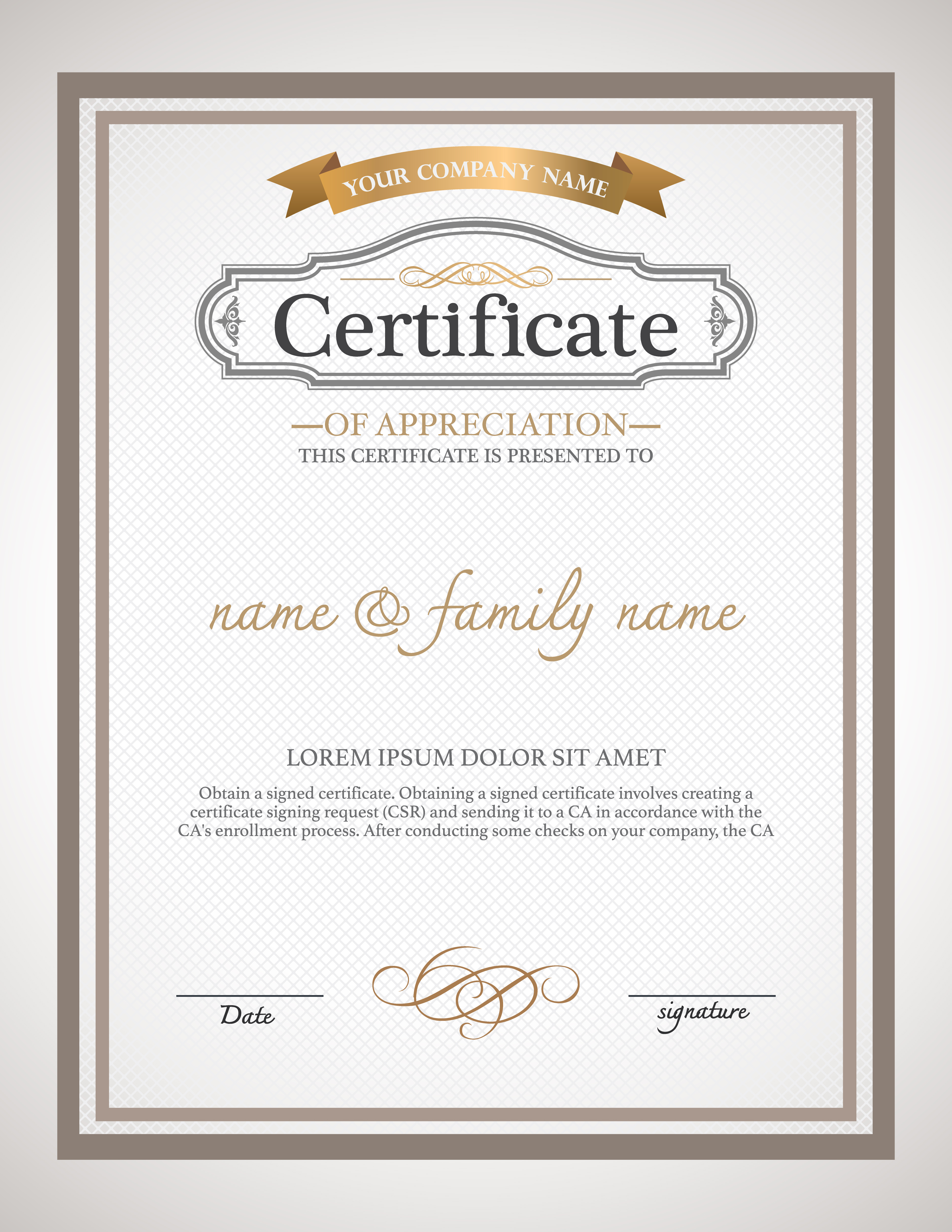Templates Of Certificates 51