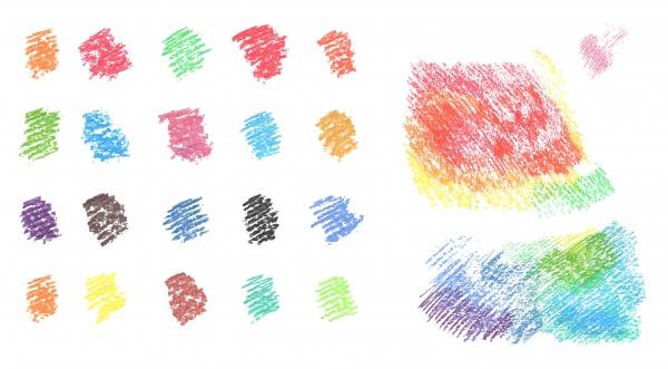Рисунки мелом в векторе (50 файлов)