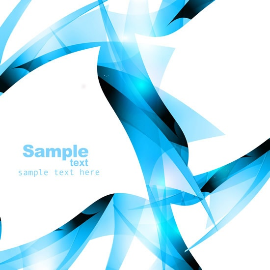 Collection of blue abstract backgrounds vector (67 файлов)
