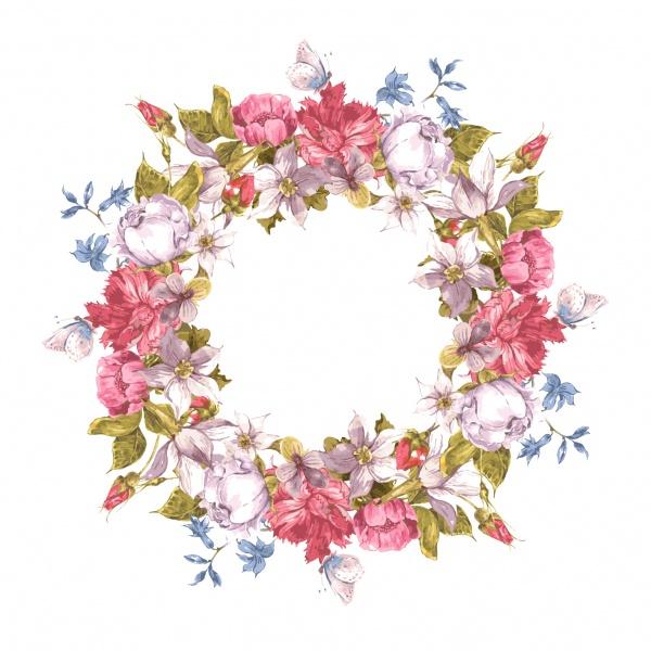 Цветочные фоны 17 (51 файлов)