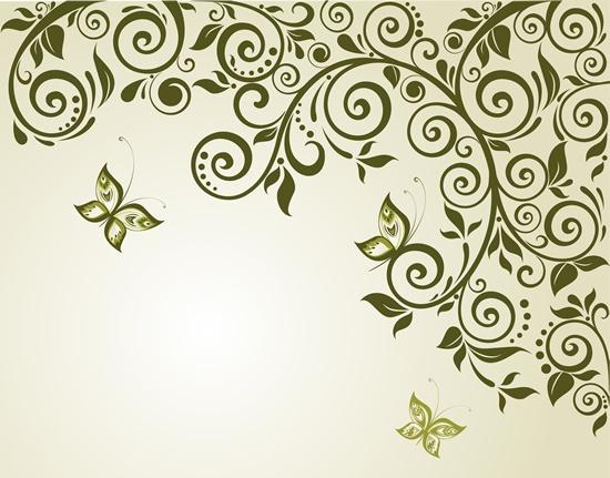 Floral backgrounds stock vector - 8 (52 файлов)