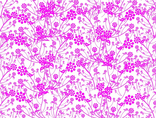 Floral patterns backgrounds stock vector - 4 (60 файлов)