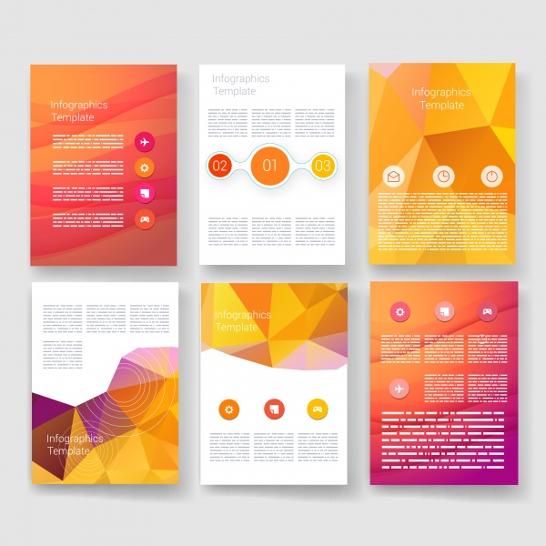 Flyer Design Template 5 (51 файлов)