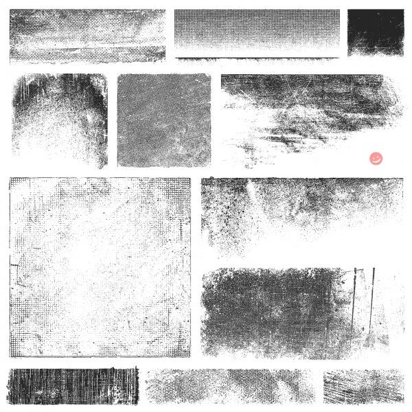 Гранжевые текстуры | Grunge textures (12 файлов)