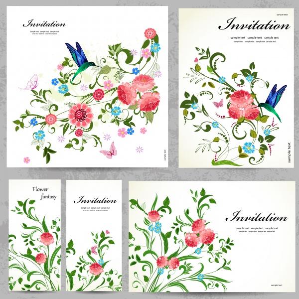 Пригласительные открытки / Invitation Card Collection (50 файлов)