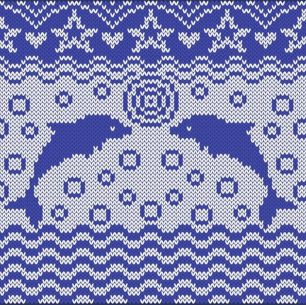 Вязанные морские фоны | Knitted sea backgrounds (10 файлов)