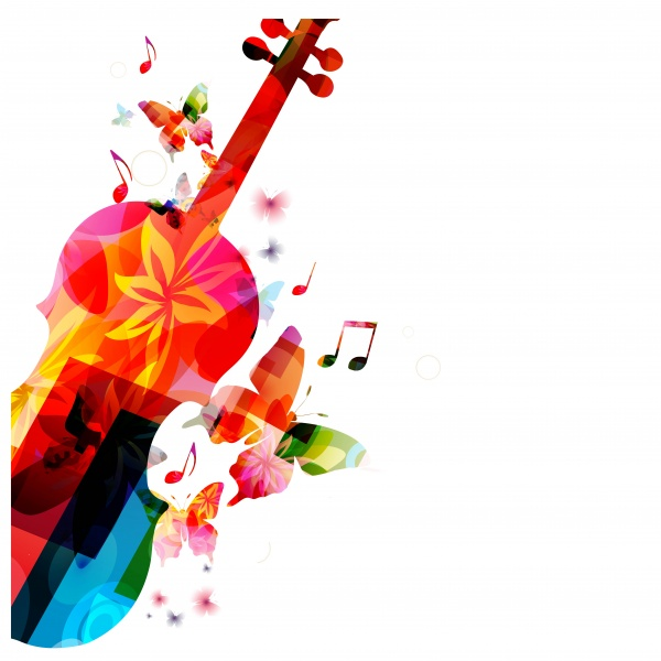 Абстрактные музыкальные фоны в векторе (75 файлов)