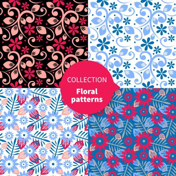 Цветочные фоны 18 (50 файлов)