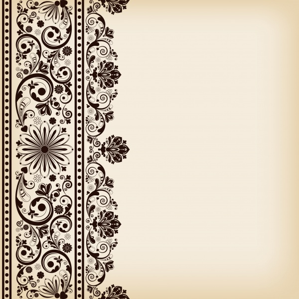 Floral patterns, vector corner ornaments (14 файлов)