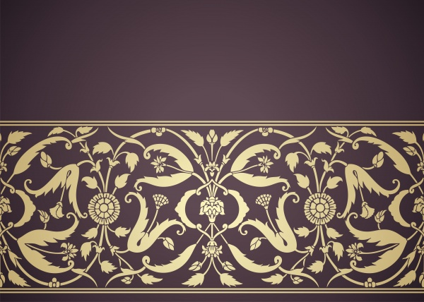 Vector backgrounds with indian patterns and ornaments (15 файлов)