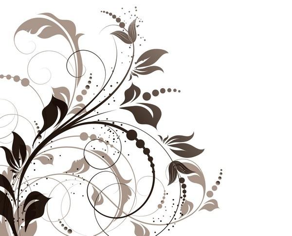 Абстрактный фон цветы Abstract Flowers Background (12 файлов)