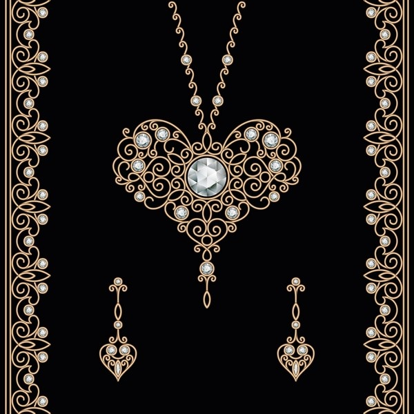 Винтажные фоны с драгоценностями - Vintage backgrounds with jewels  45  (26 файлов)