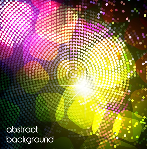 Bright colorful abstract backgrounds vector 46 (51 файлов)