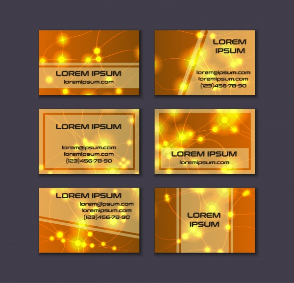 Business card collection, abstract geometric background (32 файлов)