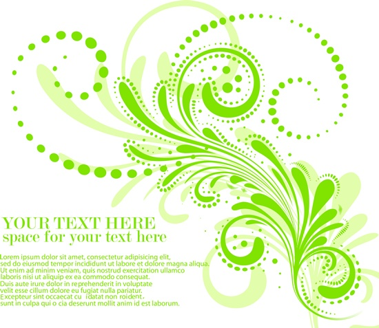 Plant design vector elements - 2 (50 файлов)