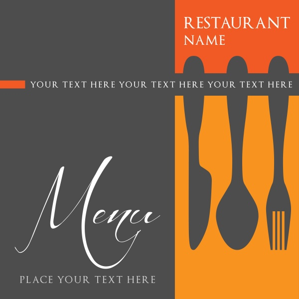 Restaurant menu design template (22 файлов)