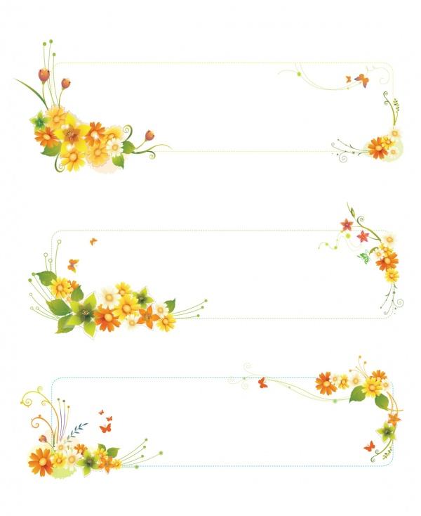 Цветочные фоны в векторе - Розы, ромашки, лилии, маки (22 файлов)