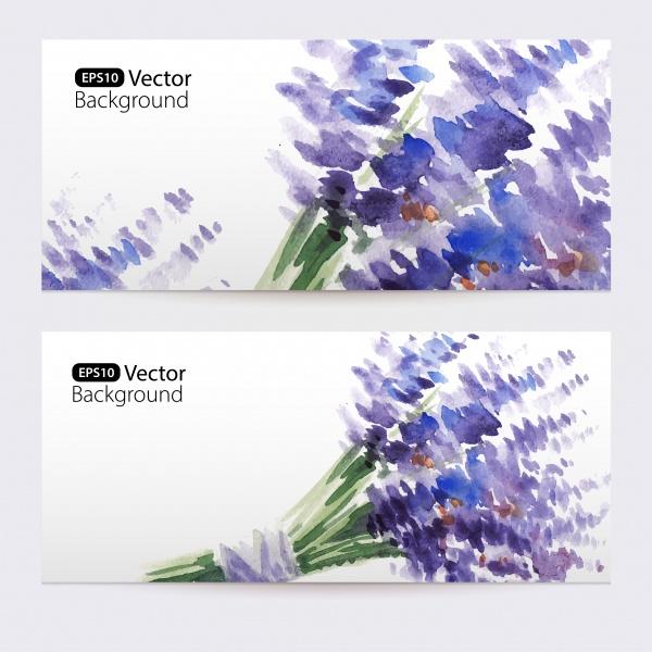 Баннеры цветочные | Floral Banners #12