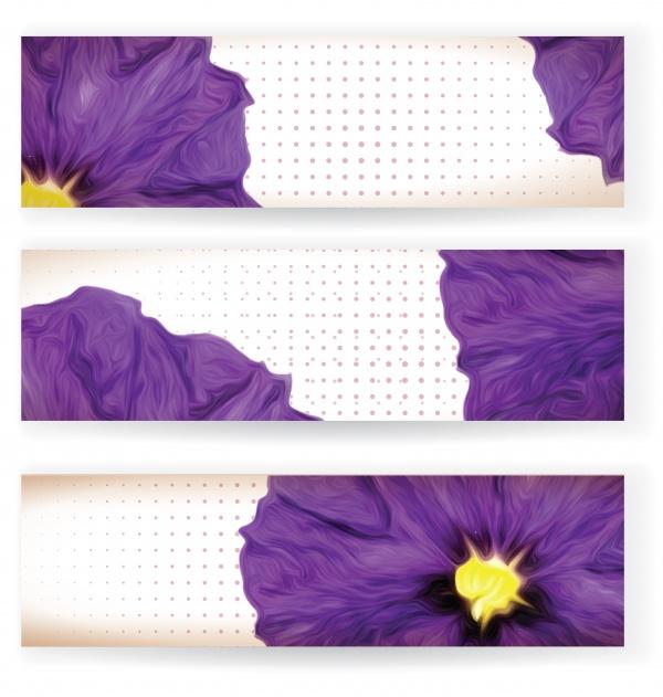 Баннеры цветочные | Floral Banners #3
