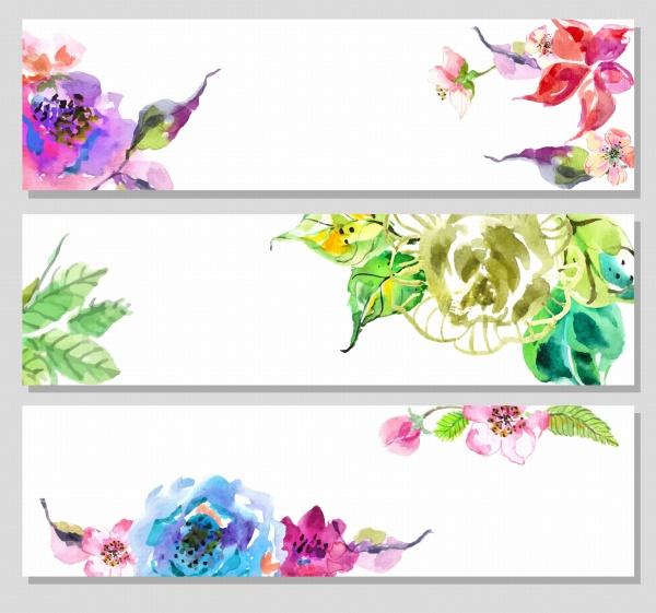 Баннеры цветочные | Floral Banners - 2 #1