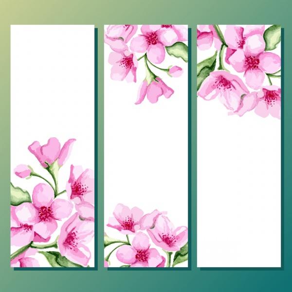 Баннеры цветочные | Floral Banners - 2 #2