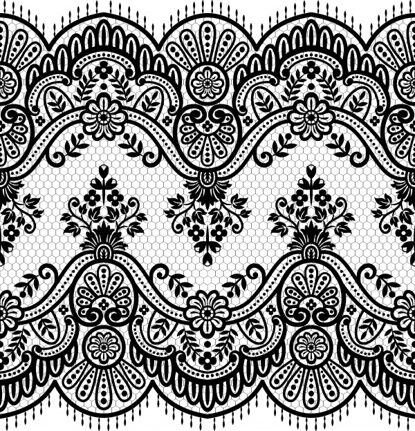 Lace Backgrounds Vector 7
