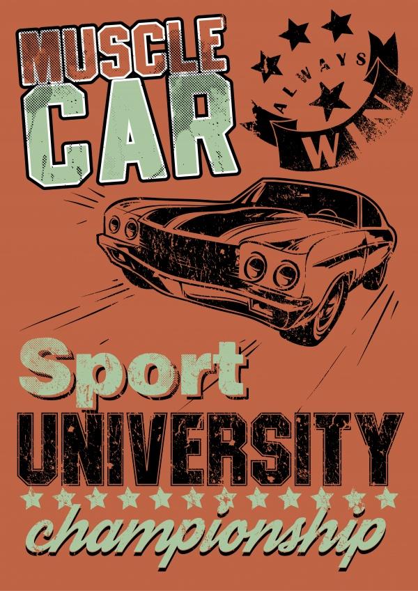 Ретро Плакат | Retro Vintage Poster #2