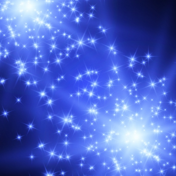 Shiny stars, lights, magic Background #2
