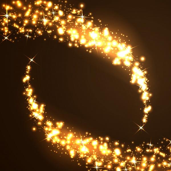 Shiny stars, lights, magic Background #2