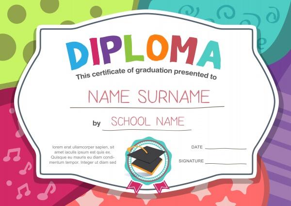 Cute Diploma Vector (10 файлов)