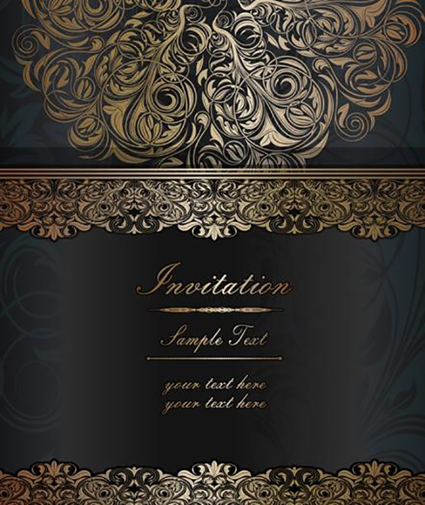 Luxury vintage vector backgrounds #1 (24 файлов)