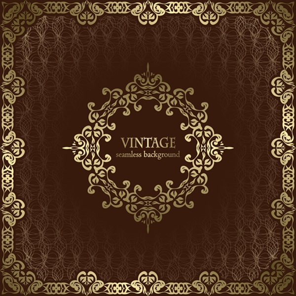 Luxury vintage vector backgrounds #2 (26 файлов)