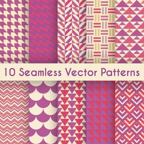 Сборник узоров в векторе #4 (16 файлов)