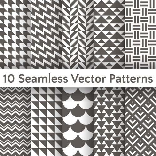 Сборник узоров в векторе #8 (17 файлов)