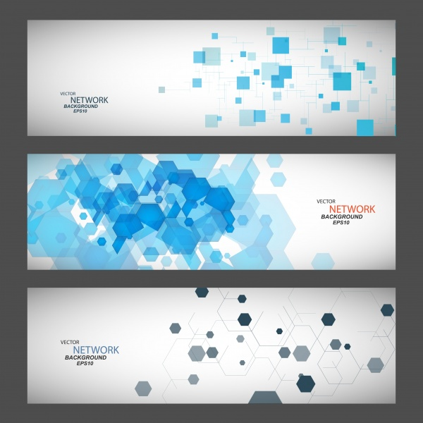 Abstract Banners Collection - 82x EPS #1 (36 файлов)
